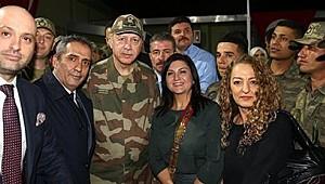 Sibel Can'a Afrin Prtotestosu