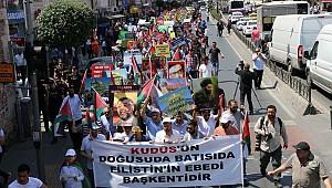Dünya Kudüs Günü Yürüyüşü Yapıldı
