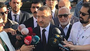 Cumhurbaşkanı Yardımcısı Oktay'dan bayram namazı sonrası açıklama