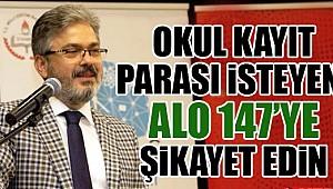 İstanbul İl Milli Eğitim Müdürlüğü'nce yayımlanan talimatta kayıt için para yok dendi