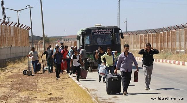 Suriyeliler geri dönüyor