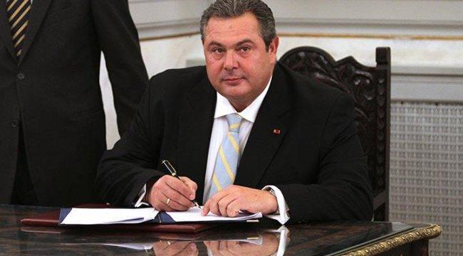 Yunan Bakandan Makedonya isim anlaşması açıklaması