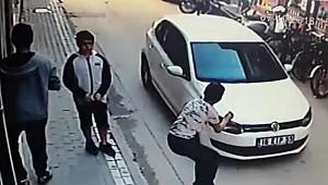 Güvenlik kamerası anbean kaydetti! 15 yaşındaki genç ölümden döndü