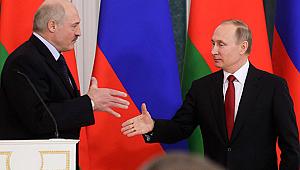 Putin ve Lukaşenko'dan canlı yayında doğal gaz pazarlığı