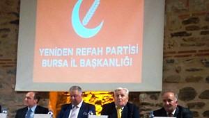 Yeniden Refah Partisi Bursa temayül yoklamasına yoğun ilgi