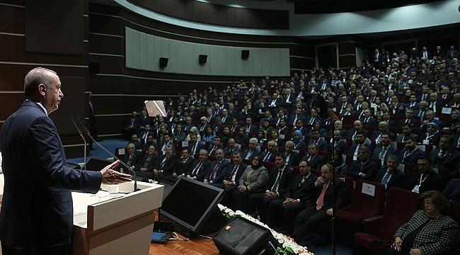 Cumhurbaşkanı Erdoğan, 'Milyonlarca bez torba ve fileyi hazırlıyoruz.