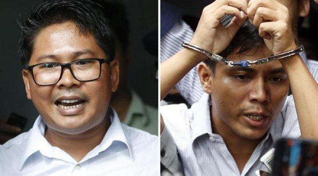Myanmar'daki yabancı ajans muhabirleri ile ilgili gelişme