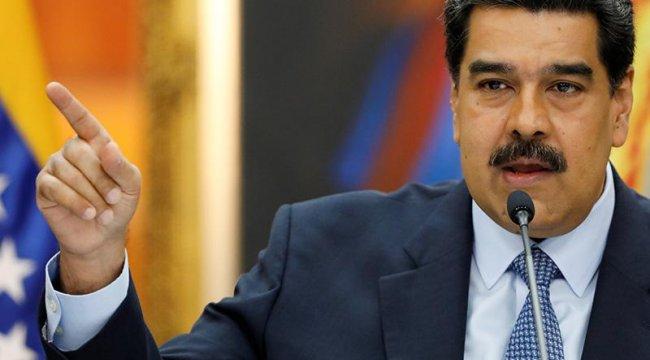 Venezuela lideri rest çekti