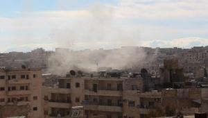 Rejim güçleri İdlib'de 2 beldeyi yıktı