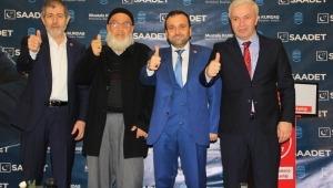 Saadet Partisi Küçükçekmece Belediye Başkan Adayını Tanıttı