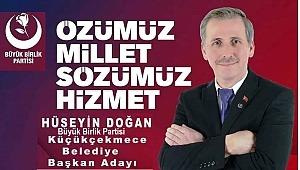 Büyük Birlik Partisi (BBP)Küçükçekmece Belediye Başkan Adayı Hüseyin Doğan kimdir.?