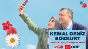 CHP'nin Adayı Kemal Deniz Bozkurt Esenyurt'ta 1 Nisan Şakası Yapacak