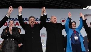 Cumhurbaşkanı Erdoğan Küçükçekmece'de Gebze-Halkalı Banliyö Tren Hatlarının Açılışını yaptı