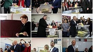 İstanbul'da siyasiler oy kullandı