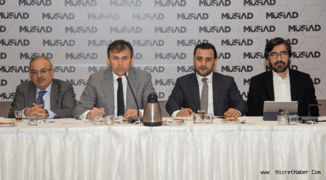 MÜSİAD'dan Avukatlık ve Hukuki Danışmanlık Sektörünün Sorunlarına Çözüm Önerileri