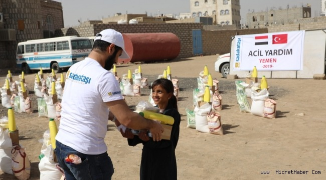 Sadakataşı'nın Yemen yardımları sürüyor