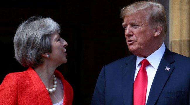 Trump'tan May'e gönderme: Tavsiyemi dinlemedi