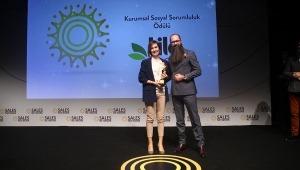 'Yılın Kurumsal Sosyal Sorumluluk Ödülü'nün sahibi Lila Group oldu