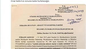 AK Parti Büyükçekmece için olağanüstü itiraz dilekçesini verdi!