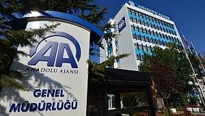 Anadolu Ajansından açıklama