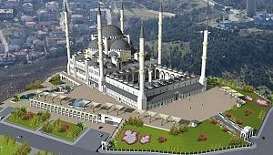 Büyük Çamlıca Camii İstanbul Tepesine Ve Boğaza Vurulmuş Mühürdür