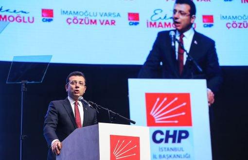 CHP İBB Başkan adayı Ekrem İmamoğlu'na kötü haber!