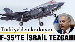 F-35'lerde İsrail parmağı