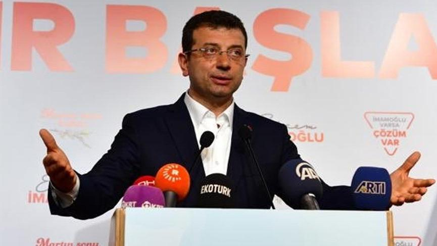 İmamoğlu'ndan İBB çalışanlarına: Hiçbir siyasi iradenin emrini kabul etmeyin