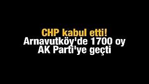 itirazlar sonucu CHP de usulsüzlüğü kabul etti