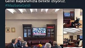 Kılıçdaroğlu, İmamoğlu'nu genel merkezde izledi