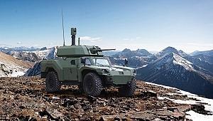 Otokar Türkiye'nin ilk elektrikli zırhlı aracını üretti