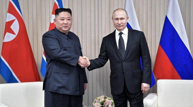 Putin ile Kim görüştü