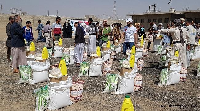 Sadakataşı Yemen'e yardımlarını sürdürüyor