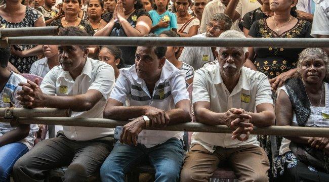 Sri Lanka'daki terör saldırılarında 45 çocuk öldü