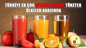 Türkiye En Çok Şekerli İçecek Tüketen Ülkeler Arasında