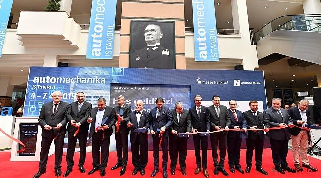 Türkiye'nin lider otomotiv endüstrisi fuarı kapılarını açtı