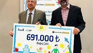 Kuveyt Türk'ten kanserli çocukların umudunu artıracak bağış!