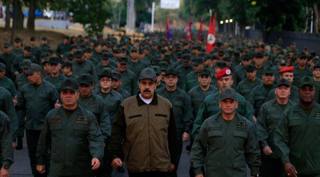 Maduro'dan ABD'ye tepki: Sömürgeniz değiliz
