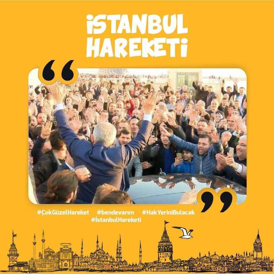 Metin Külünk'ün çağrısı ile İstanbul Hareketi başladı