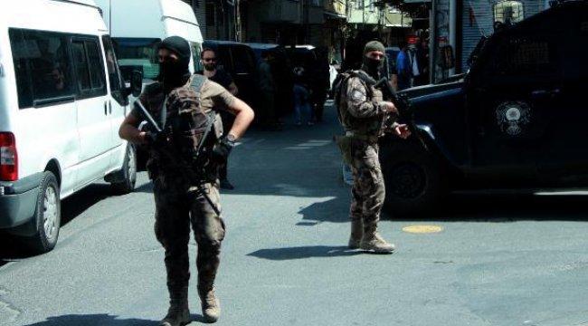 Okmeydanı'nda terör operasyonu: Çok sayıda gözaltı
