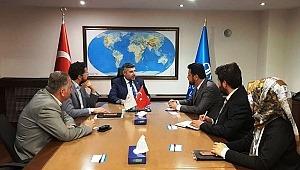 WEFA Derneği Türkiye Diyanet Vakfı'nı Ziyaret Etti