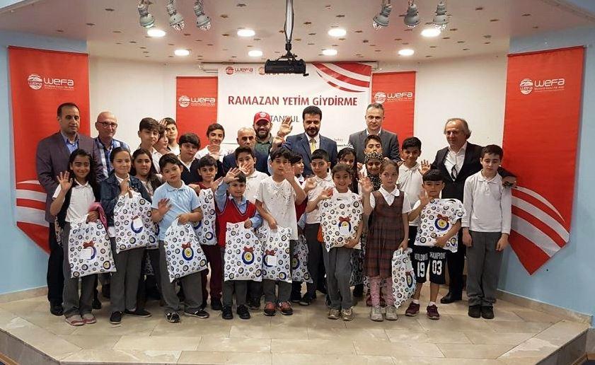 WEFA İstanbul'daki Yetimleri unutmadı