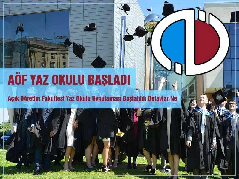 Anadolu Üniversitesi AÖF Yaz Okulu Kayıt ve Sınav Tarihleri Açıklandı