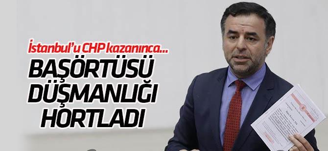 CHP'li Barış Yarkadaş Baş Örtüsüne Karşı Çıktı