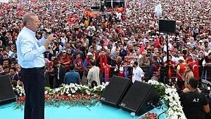 Erdoğan sahaya iniyor!