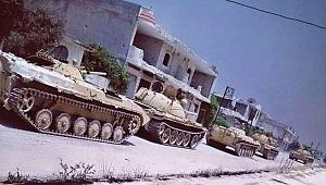Esad'ın tankları Morik istikametinde
