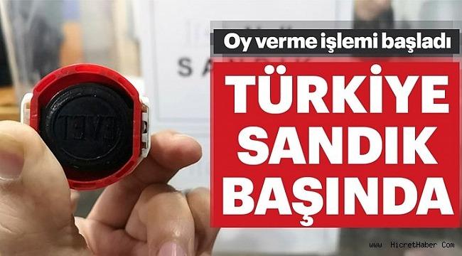 İstanbul sandık başında!