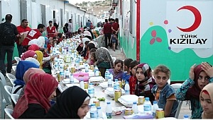 Kızılay, Ramazan'da 14.7 milyon kişiye
