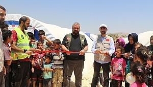 Sadakataşı ve Fetihder'den Suriye'ye Muhammed Mursi Çadır Kenti