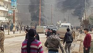 Afrin'de patlama: 1 ölü, 16 yaralı